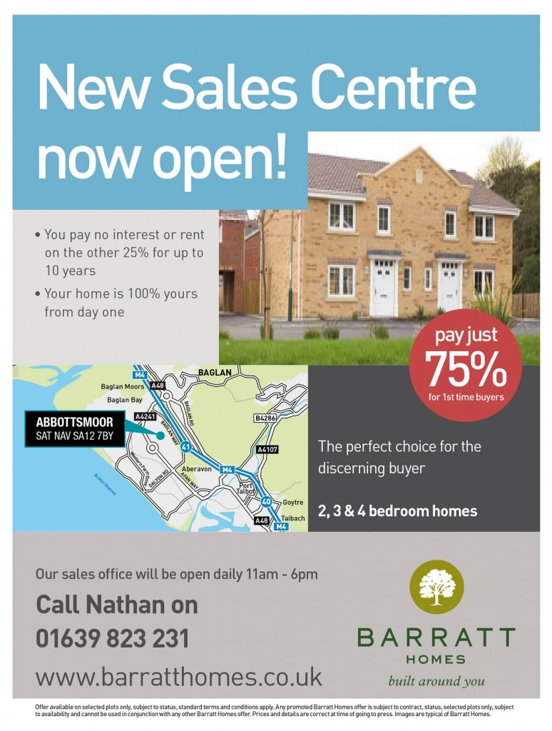 Barratt Homes South Wales