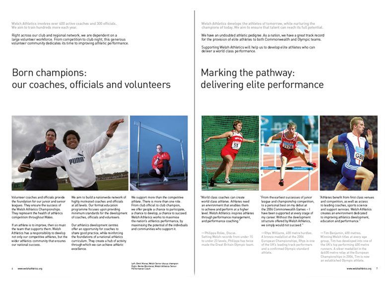 Sponsorship Brochure: Spread