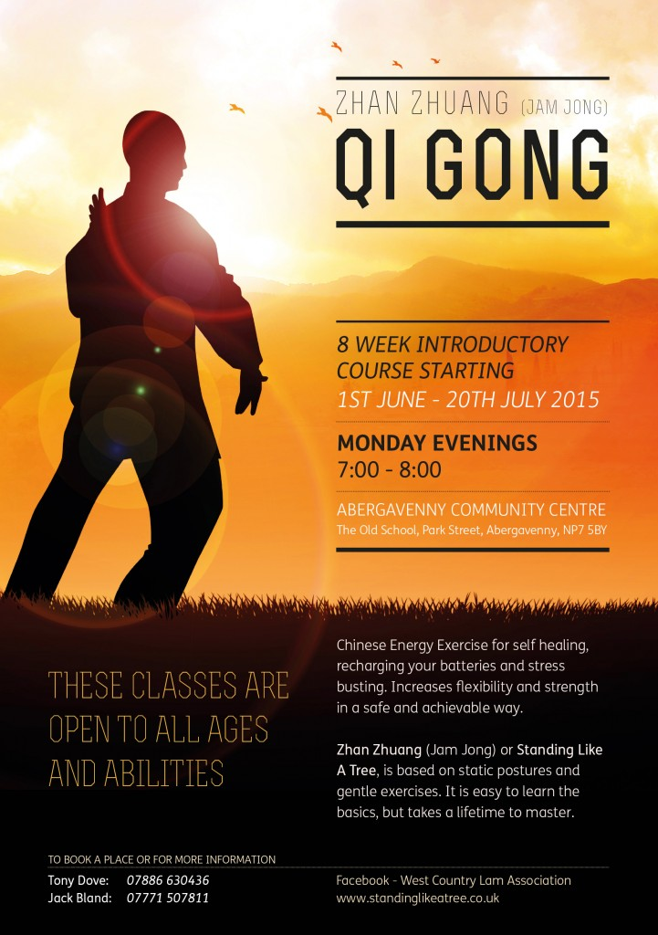 Qigong Leaflet front